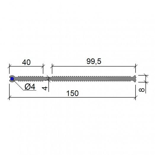 Гидрошпонка АКВАСТОП ХВС-120 (2 x o4) (ХВН-120)